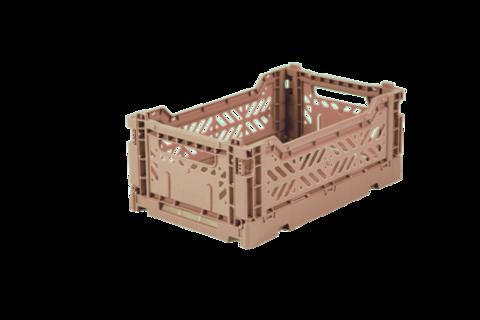 Aykasa-laatikko, Mini. Väri warm taupe