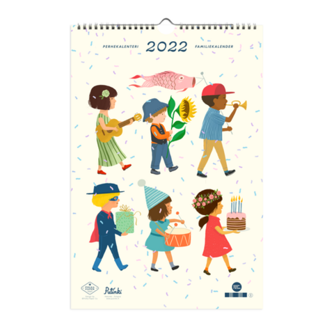 Polka Paper perhekalenteri 2022