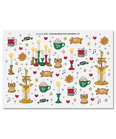 Joulu-kalenteritarrat