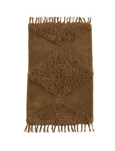 Pehmoinen matto kohokuviolla, koko 60x90 cm