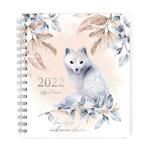 Life planner kalenteri 2022
