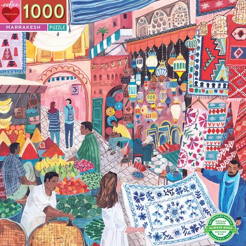 Marrakesh-palapeli, 1000 palaa. Ikäsuositus 8+