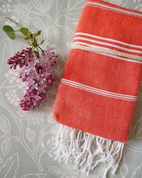 Ranta smartsize/lasten hamam-pyyhe, oranssi