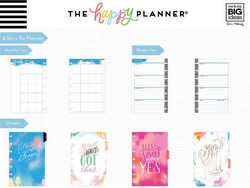 Happy planner Mini-Brushy brights