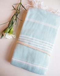 Ranta hamam-pyyhe, aqua