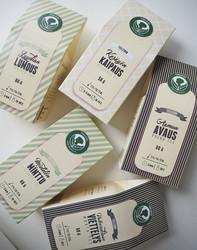 Mieletön minttu-vihreä tee
