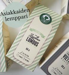 Lyydian lumous-vihreä tee