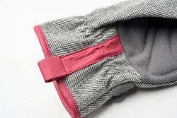 Puutarhahanskat, Grey tweed S/M
