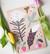 Höyhen ja kukka-muistivihko A5