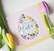 Happy easter egg- postikortti, 2-osainen