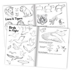 Opi piirtämään-eläimiä