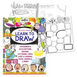 Opi piirtämään-muotoja ja hahmoja