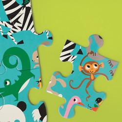 Maailman eläimet-jättipalapeli, 25 palaa