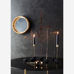 Bambureunainen peili