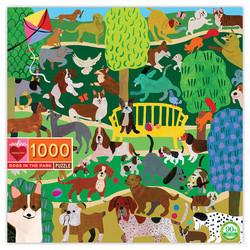 Dogs in the park-palapeli, 1000 palaa. Ikäsuositus 7+