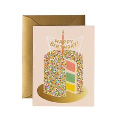 Layer cake-2-osainen kortti