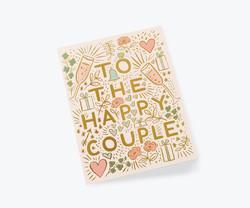 Happy couple 2-osainen kortti