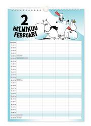 Muumi perhekalenteri 2022