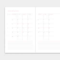 Syysvuokko kalenteri 2022 A5
