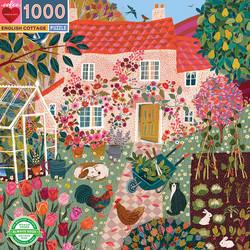English cottage-palapeli, 1000 palaa. Ikäsuositus 7+