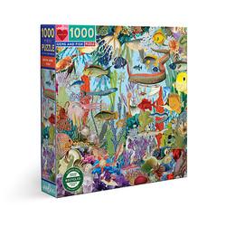 Gems and fish-palapeli, 1000 palaa. Ikäsuositus 8+