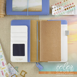 Color crush periwinkle traveller notebook