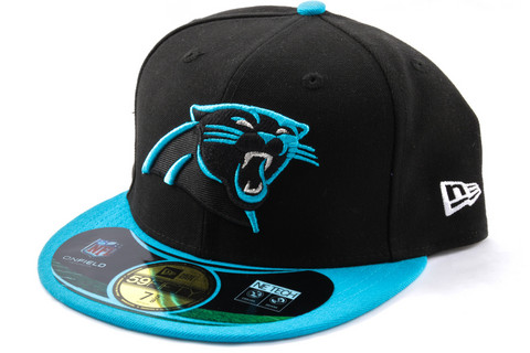 New Era 59Fifty KIDS Cap NFL ON FIELD Carolina Panthers, Koko 6 3/8