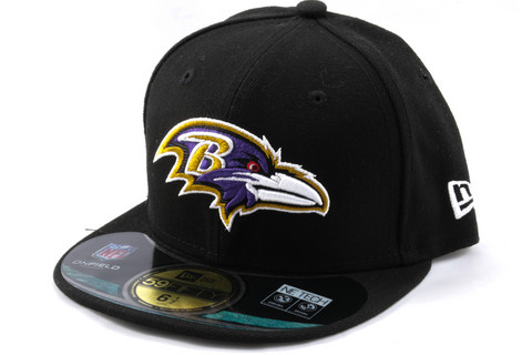 New Era 59Fifty KIDS Cap NFL ON FIELD Baltimore Ravens, Fitted