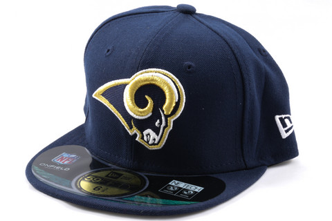 New Era KIDS Cap NFL ON FIELD St. Louis Rams navy, Koko 6 5/8