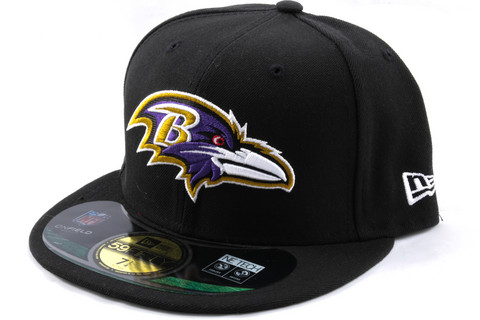 New Era KIDS Cap NFL ON FIELD Baltimore Ravens, Koko 6 5/8