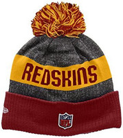 New Era NFL Sideline Bobble Knit Washington Redskins Team OSFA