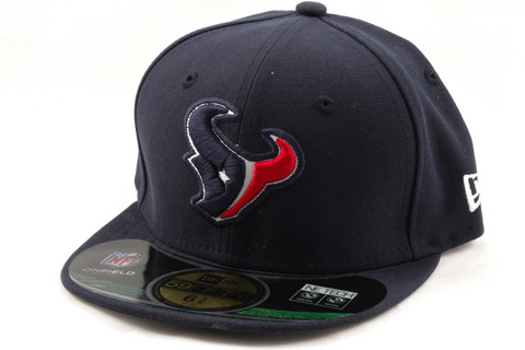 New Era KIDS Cap NFL ON FIELD Houston Texans navy, Koko 6 3/8