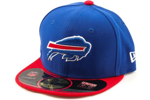 New Era 59Fifty KIDS Cap NFL ON FIELD Buffalo Bills, Fitted