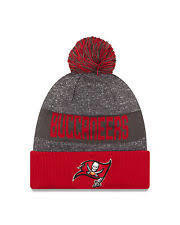 New Era Nfl Sideline Bobble Knit Tampa Bay Buccaneers Red OSFA