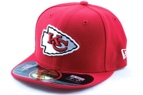 New Era KIDS Cap NFL ON FIELD Kansas City Chiefs red, Koko 6 1/2