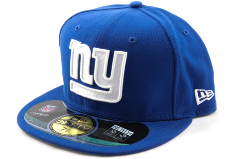 New Era 59Fifty NFL On Field New York Giants Game Cap, Koko 7 3/8