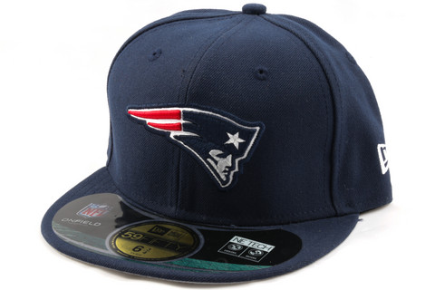 New Era 59Fifty NFL On Field New England Patriots Game Cap, Koko 7 1/4