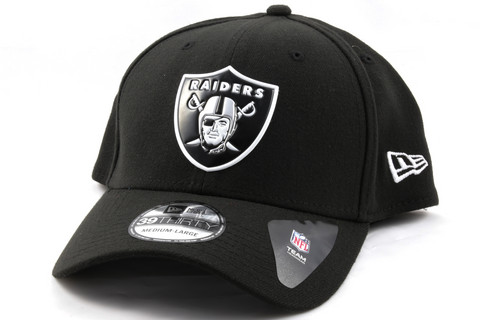 New Era 39Thirty Curved Cap WELD LOGO Oakland Raiders, Koko S/M
