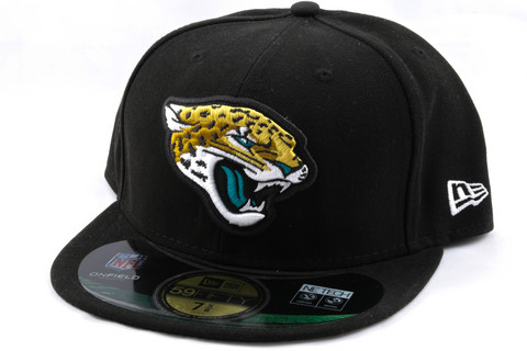 New Era 59Fifty NFL On Field Jacksonville Jaguars Game Cap, Koko 7 5/8