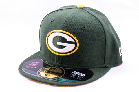 New Era KIDS Cap NFL ON FIELD Green Bay Packers, Koko 6 5/8