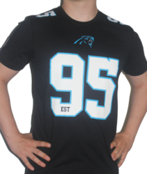 New Era - Dryera NO Carolina Panthers T-Paita