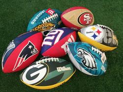 Wilson - NFL jr. team logo fanipallo