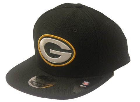 New Era 9Fifty DryEra Tech Snapback Green Bay Packers, Koko S/M