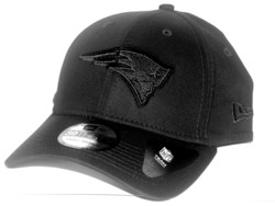 New Era 39Thirty Black on Black New England Patriots
