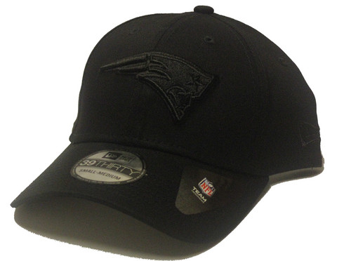 New Era 39Thirty Black on Black New England Patriots, Koko M/L