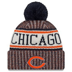 New Era NFL Sideline Bobble Knit 2018 Chicago Bears