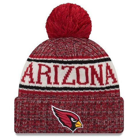New Era NFL Sideline Bobble Knit 2018 Arizona Cardinals