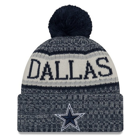 New Era NFL Sideline Bobble Knit 2018 Dallas Cowboys