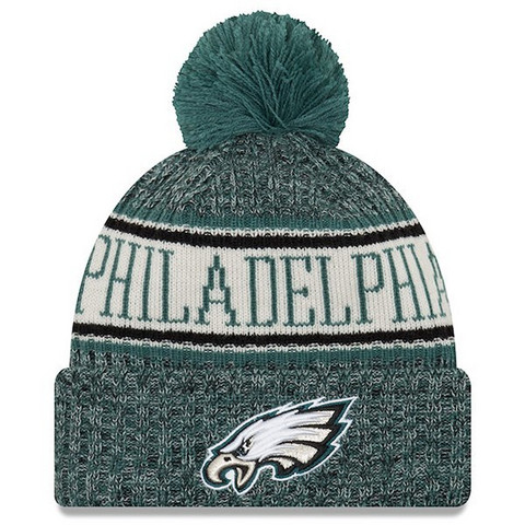New Era NFL Sideline Bobble Knit 2018 Philadelphia Eagles