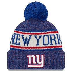 New Era NFL Sideline Bobble Knit 2018 New York Giants